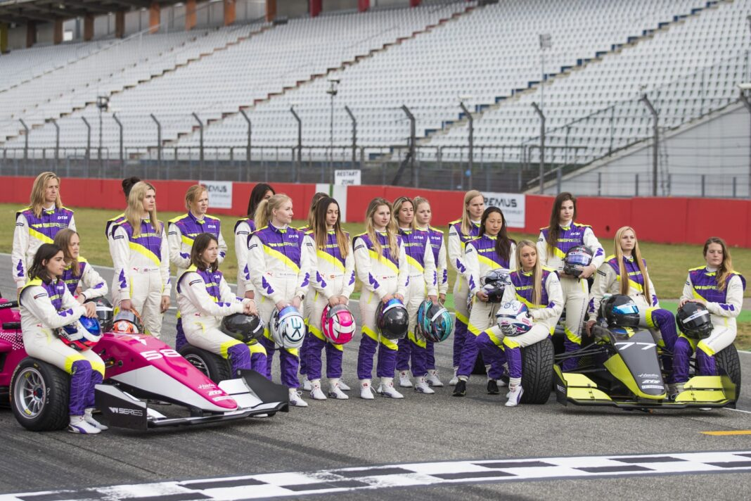 W Series racingline, racinglinehu, racingline.hu