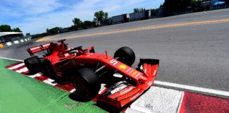 Sebastian Vettel Ferrari Kanada