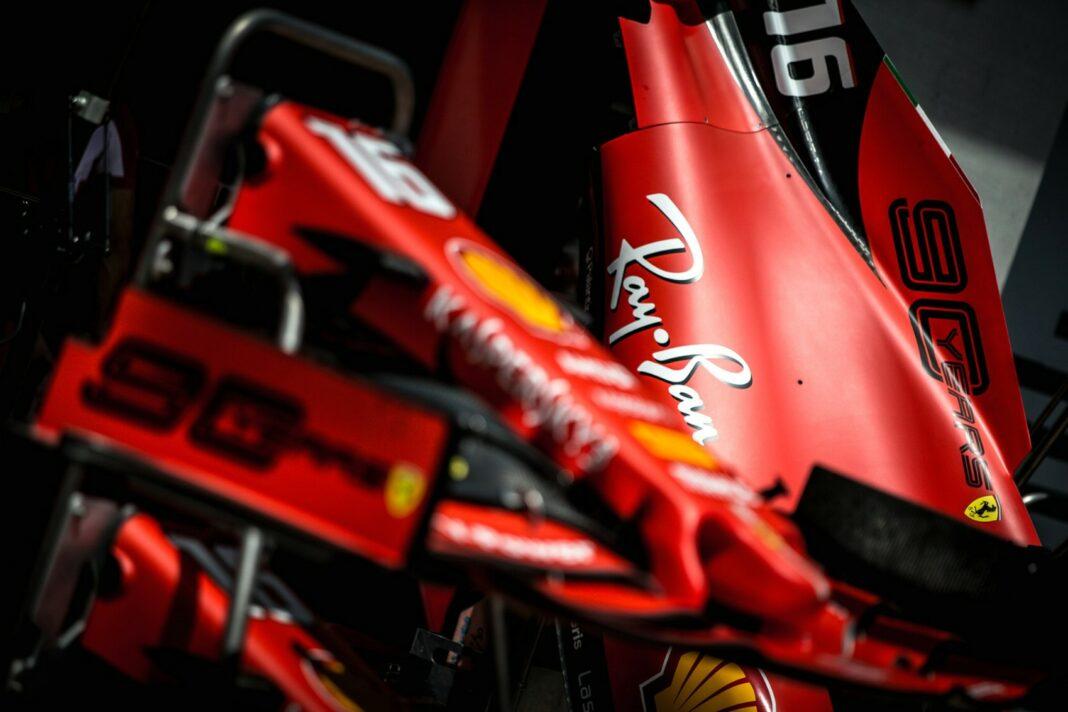 Ferrari, Ray Ban