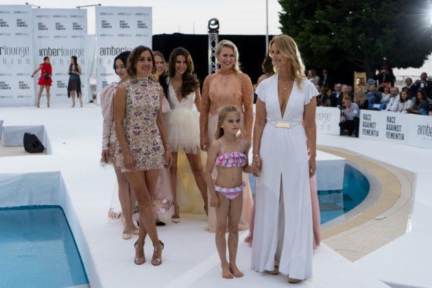 Amber Lounge Fashion Show, Sonia Irvine, Mervi Kallio, Noemi de Miguel, Tamara Boullier