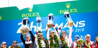 #8 TOYOTA GAZOO RACING / JPN / Toyota TS050 - Hybrid - Hybrid / Sebastien Buemi (CHE) / Fernando Alonso (ESP) / Kazuki Nakajima (JPN) - 24 hours of Le Mans Alonso Nakajima Buemi