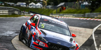 05 MICHELISZ Norbert, (HUN), BRC Hyundai N Squadra Corse, Hyundai i30 N TCR, action during the 2019 FIA WTCR World Touring Car cup of Nurburgring, Nordschleife, Germany from june 20 to 22 - Photo Clement Marin / DPPI