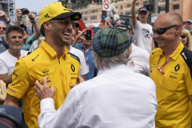 Daniel Ricciardo, Jackie Stewart