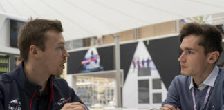 Daniil Kvyat racingline, racinglinehu, racingline.hu