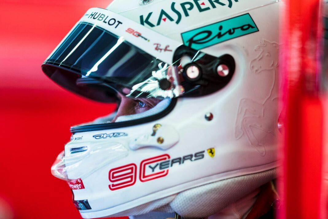 arai, Sebastian Vettel, Ferrari, racingline, racinglinehu, racingline.hu