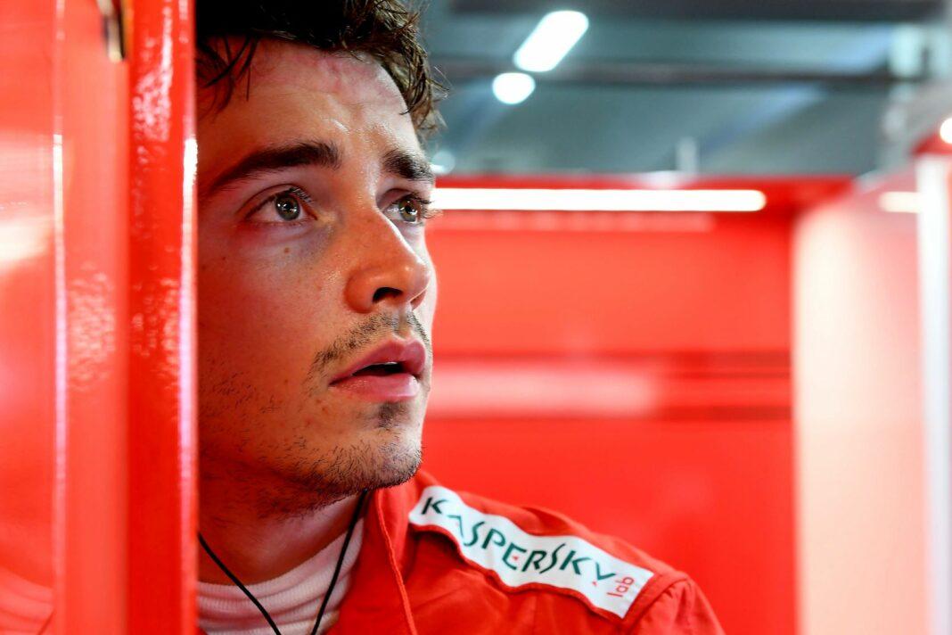 Charles Leclerc Ferrari,, Racingline