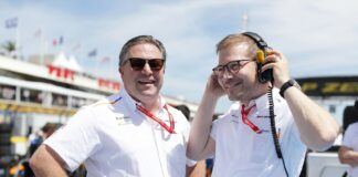 Zak Brown, McLaren, Andreas Seidl