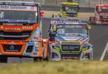 Steffi Halm, Adam Lacko, kamion, racingline.hu
