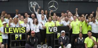 Mercedes Lewis Hamilton, Valtteri Bottas