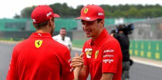 Sebastian Vettel, Charles Leclerc, racingline, racinglinehu, racingline.hu