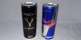 Rich Energy vs Red Bull