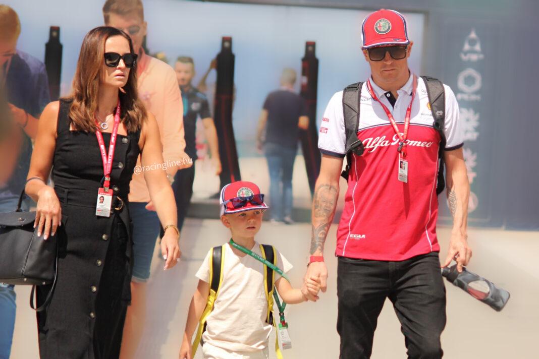 Minttu Räikkönen, Robin Räikkönen, Kimi Räikkönen
