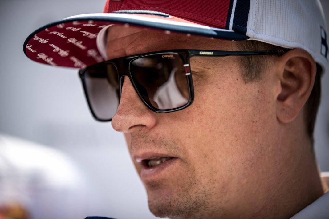 Kimi Räikkönen, Alfa Romeo, racingline