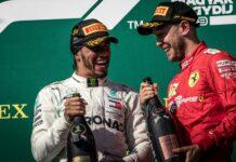 Lewis Hamilton, Sebastian Vettel