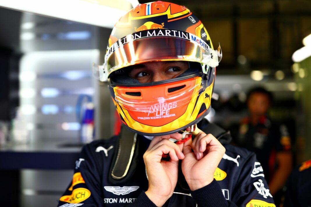 Alex Albon, Red Bull, racingline, racinglinehu, racingline.hu