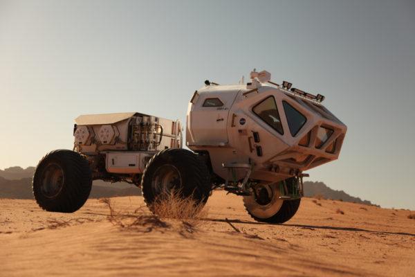 Opel Dakar Team marsjáró