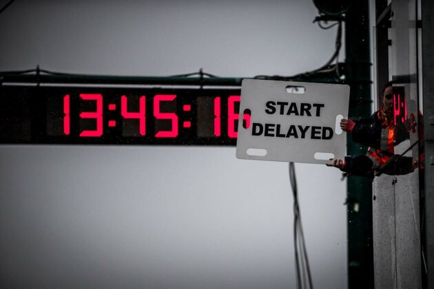 Formula Renault Eurocup start delayed
