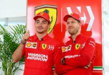 Sebastian Vettel, Charles Leclerc, Ferrari, racingline, racingline.hu, racinglinehu