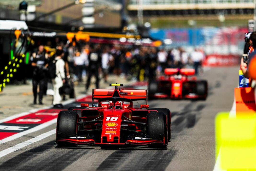 Charles Leclerc, Sebastian Vettel, Ferrari, racingline racinglinehu, racingline.hu, forma-1