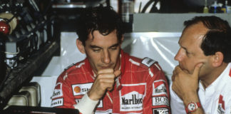 Ayrton Senna, ron dennis, racingline.hu