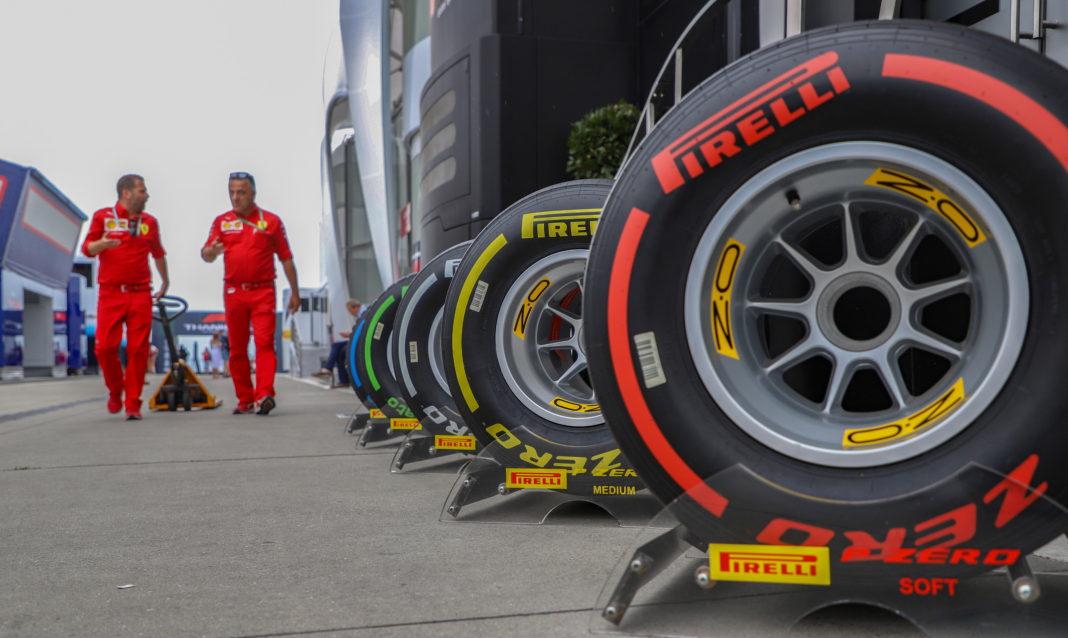 Pirelli, racingline
