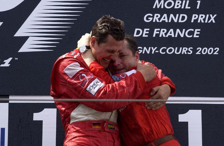 Todt, Schumacher, Racingline