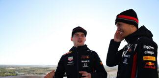 Verstappen, Albon, Racingline
