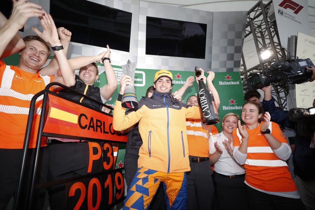 Carlos Sainz, Brazil Nagydíj, 2019, racingline.hu