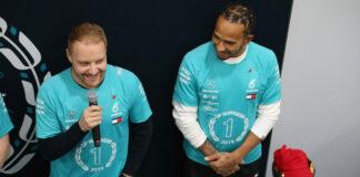 Hamilton, Bottas, Häkkinen Racingline