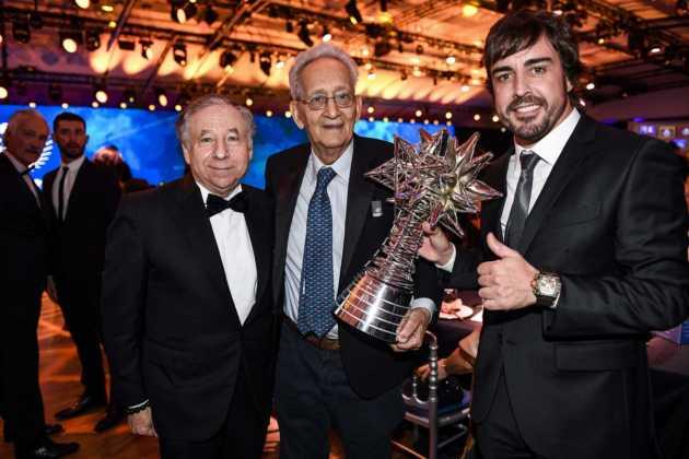 FIA Gála, Fernando Alonso