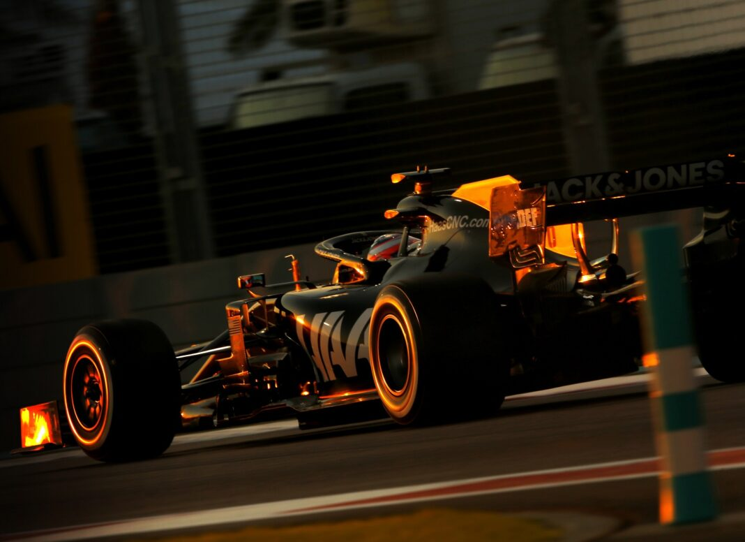 Romain Grosjean, Haas, teszt