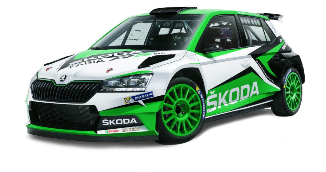 SKODA FABIA R5 EVO 10, racingline.hu, tcl