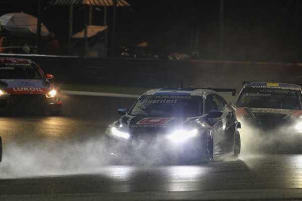 Esteban Guerrieri, Johan Kristoffersson és Michelisz Norbi, racingline.hu