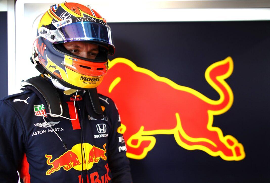 Albon, Red Bull, racingline