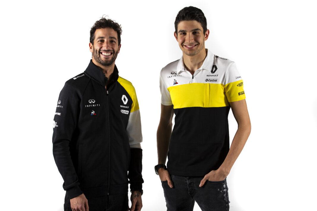 Daniel Ricciardo, Esteban Ocon