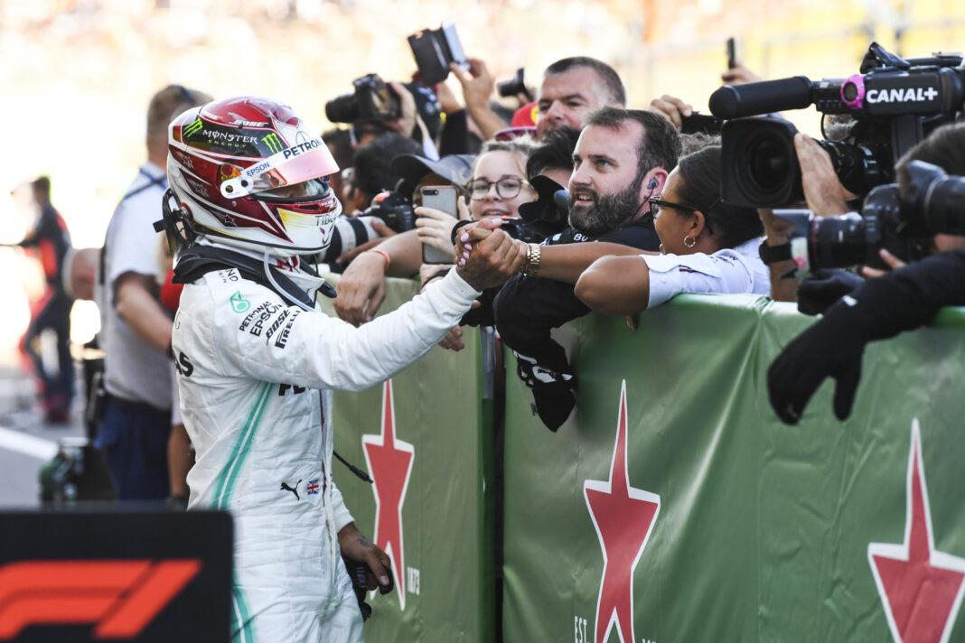 Hamilton, Mercedes, racingline