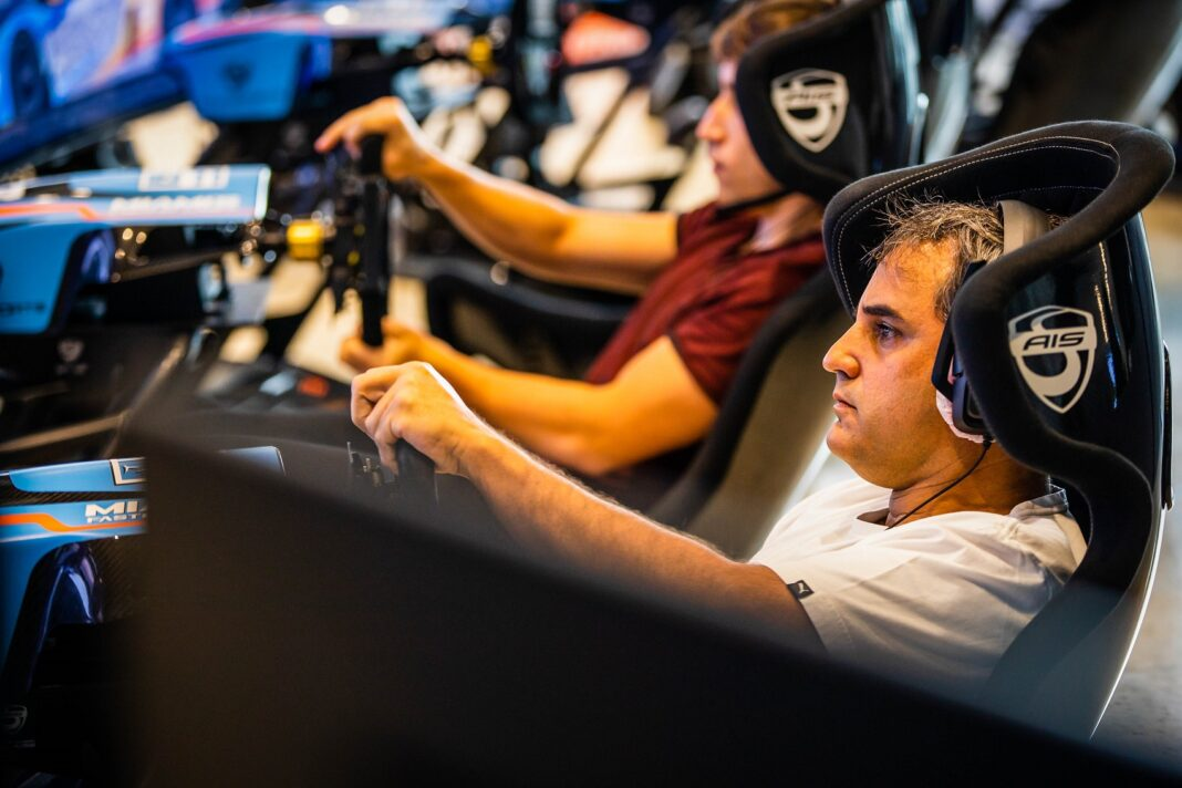 Juan Pablo Montoya, Miami's Fastest Gamer