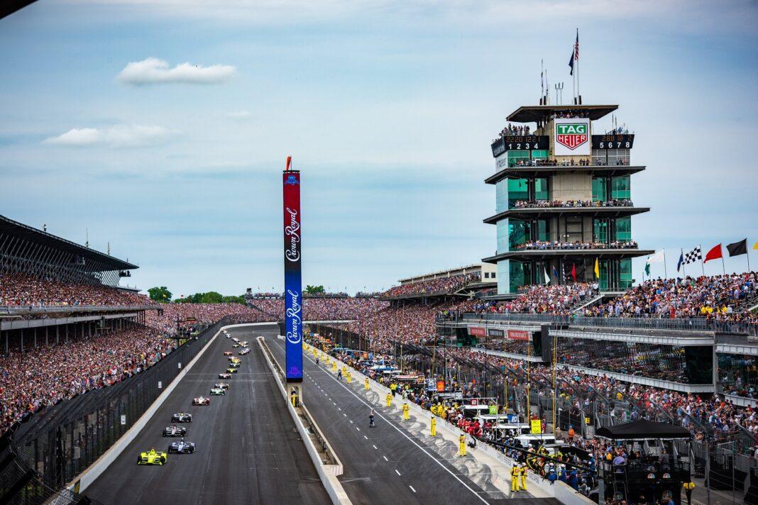 Indy500, IndyCar, racingline