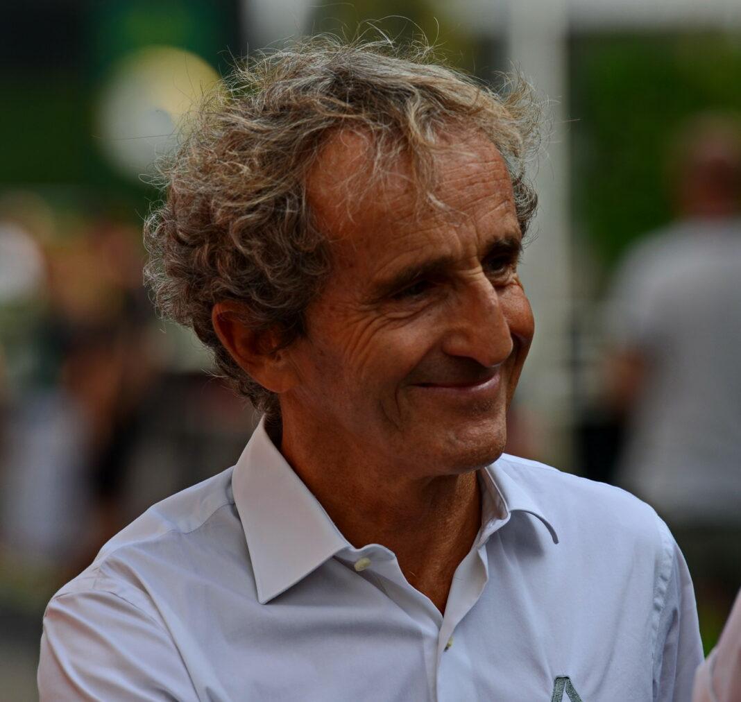 Prost, racingline