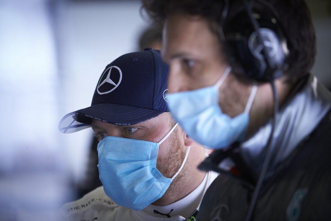 Valtteri Bottas, Mercedes, racingline