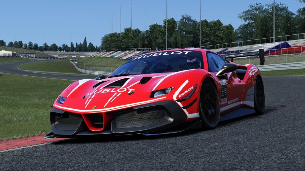 Ferrari, eSport,racingline