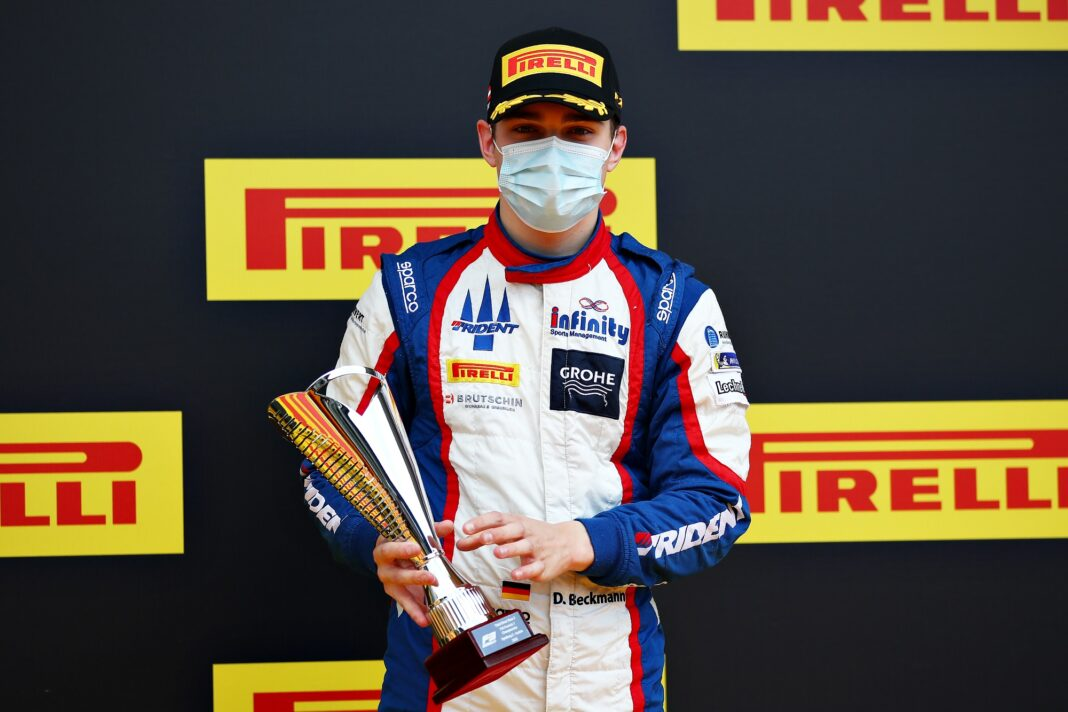 David Beckmann, Formula 3, racingline