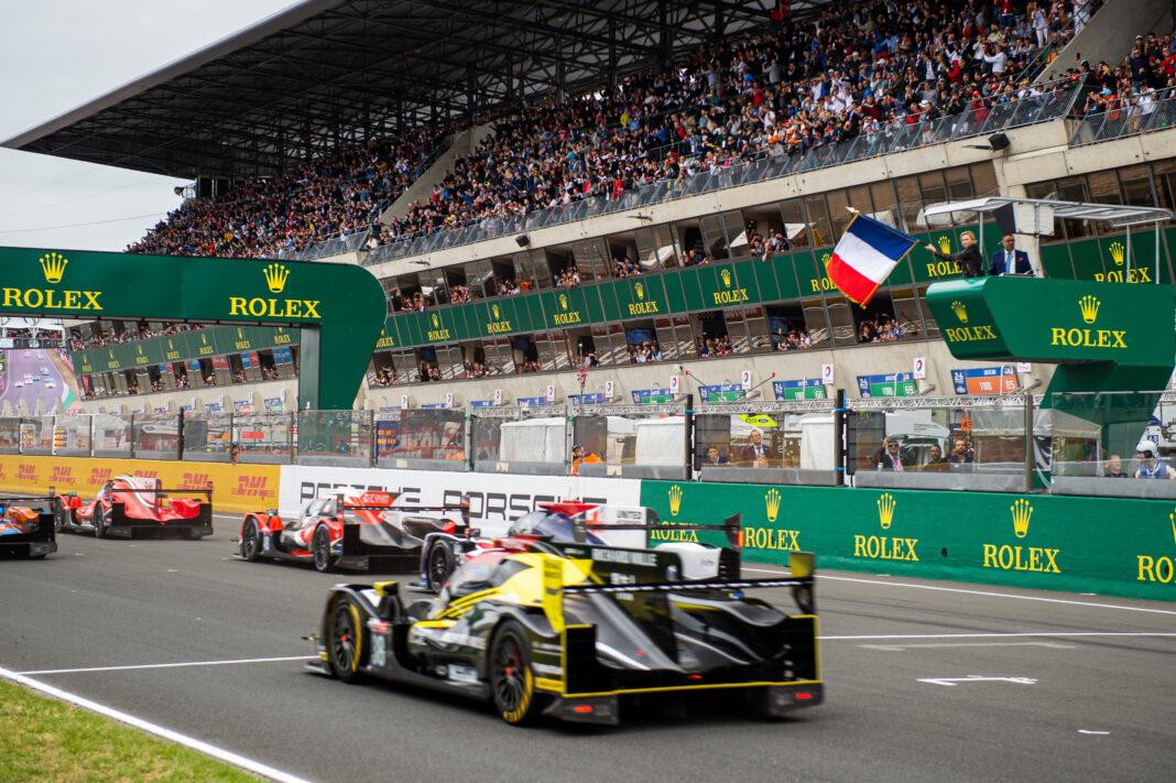 Le Mans, racingline