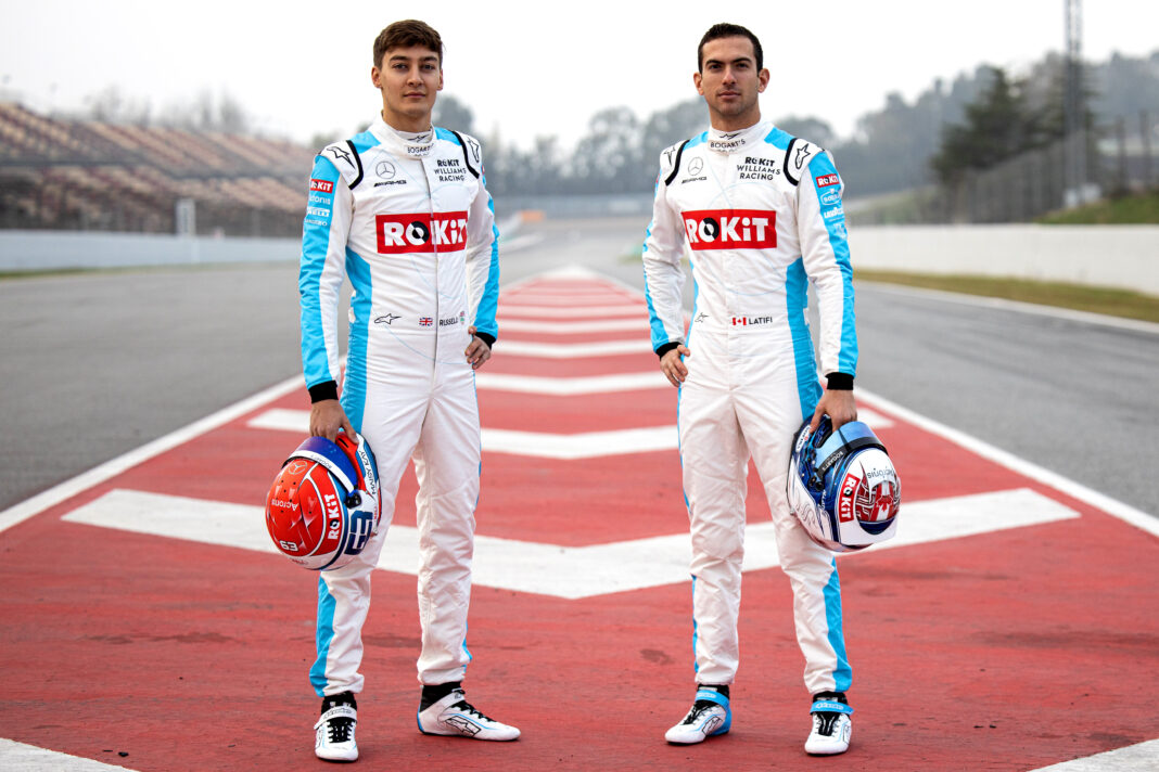 George Russell & Nicholas Latifi, Williams, racingline.hu