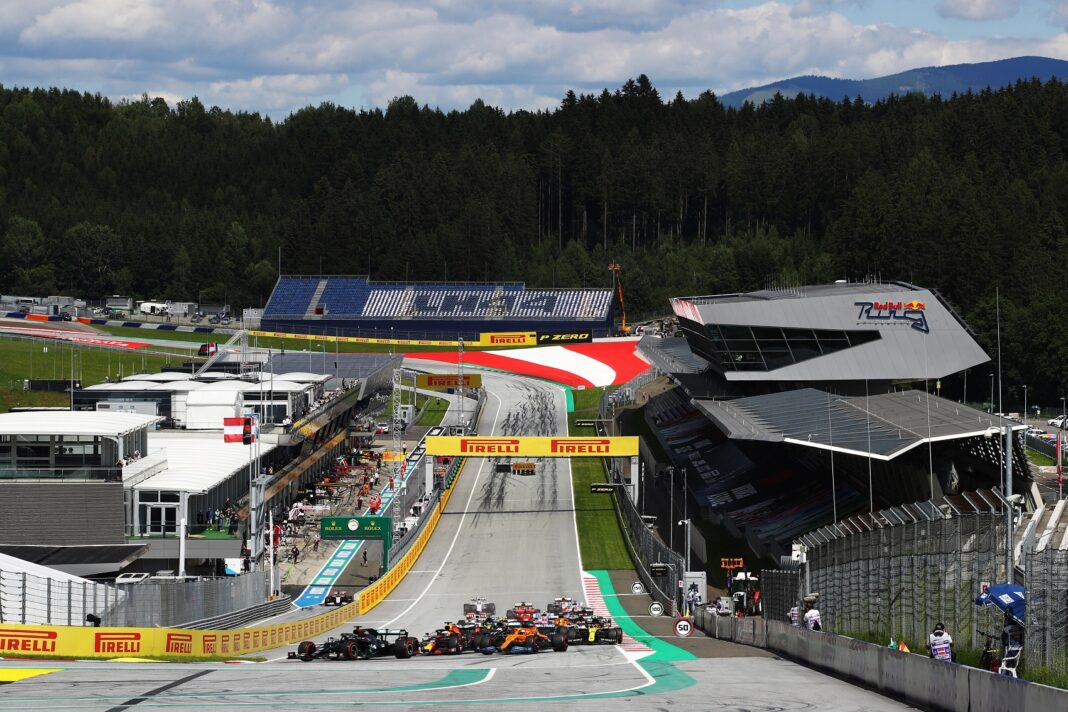 red bull ring, forma-1