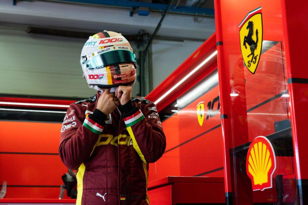 Sebastian Vettel, racingline