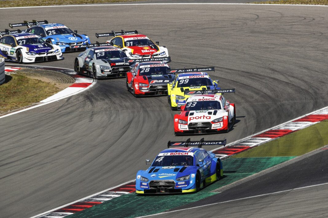 Frijns, Rast & Rockenfeller, Nürburgring, DTM, racingline.hu