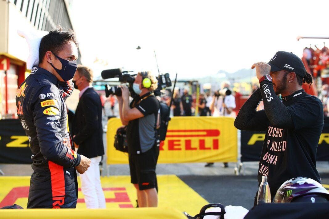 Alexander Albon, Lewis Hamilton, mercedes